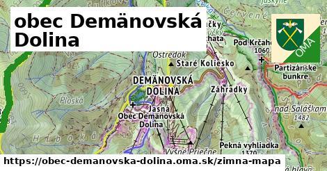 ikona Zimná mapa zimna-mapa  obec-demanovska-dolina