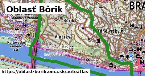 ikona Mapa autoatlas  oblast-borik