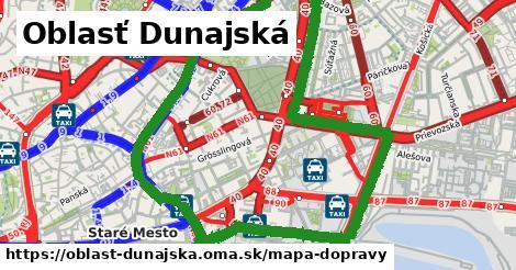 ikona Mapa dopravy mapa-dopravy v oblast-dunajska