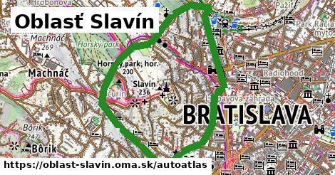 ikona Mapa autoatlas  oblast-slavin