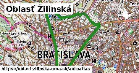 ikona Mapa autoatlas  oblast-zilinska