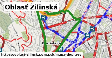 ikona Mapa dopravy mapa-dopravy v oblast-zilinska