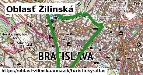 ikona Turistická mapa turisticky-atlas v oblast-zilinska