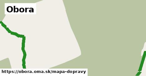 ikona Obora: 6,4km trás mapa-dopravy  obora