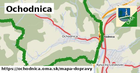 ikona Mapa dopravy mapa-dopravy  ochodnica