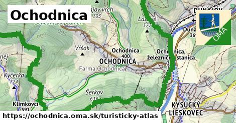 ikona Turistická mapa turisticky-atlas  ochodnica