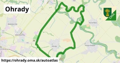 ikona Mapa autoatlas  ohrady