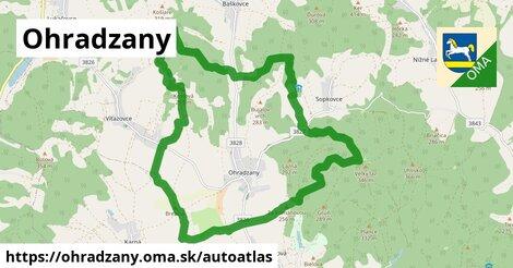 ikona Mapa autoatlas  ohradzany
