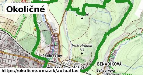 ikona Mapa autoatlas  okolicne