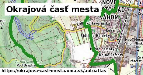 ikona Mapa autoatlas  okrajova-cast-mesta