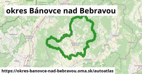 ikona Mapa autoatlas  okres-banovce-nad-bebravou