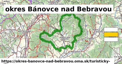 ikona Turistická mapa turisticky-atlas  okres-banovce-nad-bebravou