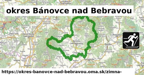 ikona Zimná mapa zimna-mapa v okres-banovce-nad-bebravou