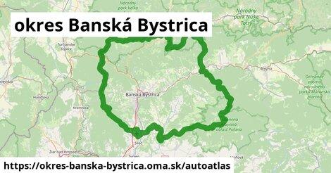 ikona Mapa autoatlas  okres-banska-bystrica