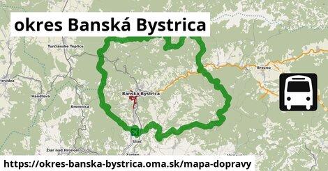ikona Mapa dopravy mapa-dopravy  okres-banska-bystrica