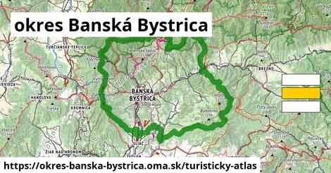 ikona okres Banská Bystrica: 37km trás turisticky-atlas  okres-banska-bystrica