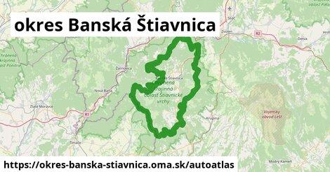 ikona Mapa autoatlas  okres-banska-stiavnica