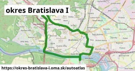 ikona Mapa autoatlas  okres-bratislava-i