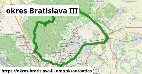 ikona Mapa autoatlas  okres-bratislava-iii