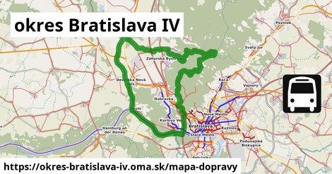ikona okres Bratislava IV: 905km trás mapa-dopravy  okres-bratislava-iv