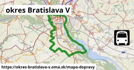 ikona Mapa dopravy mapa-dopravy  okres-bratislava-v