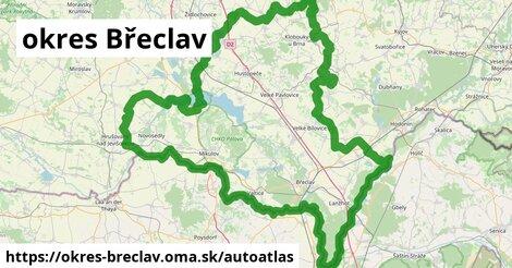 ikona Mapa autoatlas  okres-breclav