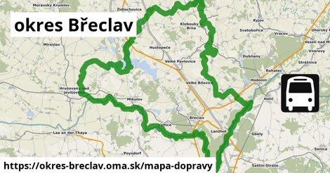 ikona Mapa dopravy mapa-dopravy  okres-breclav