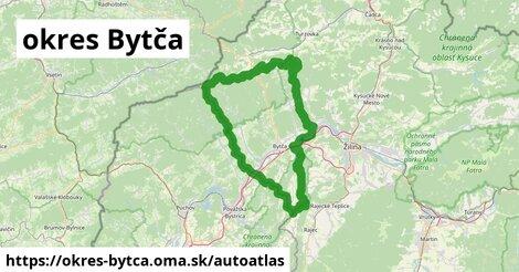 ikona Mapa autoatlas  okres-bytca