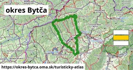 ikona Turistická mapa turisticky-atlas  okres-bytca