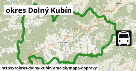 ikona Mapa dopravy mapa-dopravy  okres-dolny-kubin