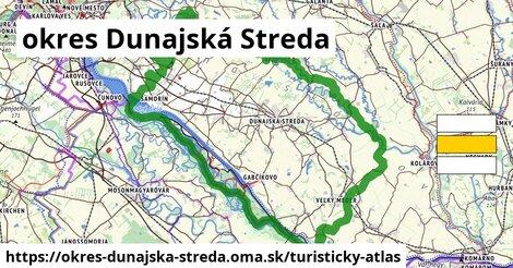 ikona okres Dunajská Streda: 76km trás turisticky-atlas  okres-dunajska-streda