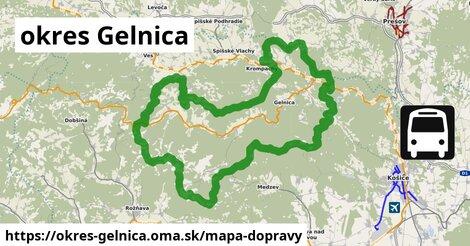 ikona Mapa dopravy mapa-dopravy  okres-gelnica