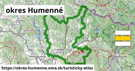 ikona Turistická mapa turisticky-atlas  okres-humenne
