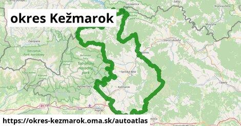 ikona Mapa autoatlas  okres-kezmarok