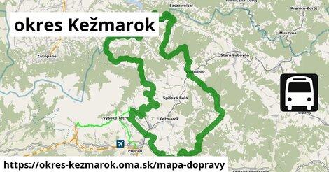 ikona Mapa dopravy mapa-dopravy  okres-kezmarok