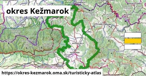 ikona Turistická mapa turisticky-atlas  okres-kezmarok