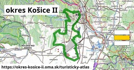 ikona Turistická mapa turisticky-atlas  okres-kosice-ii