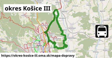 ikona Mapa dopravy mapa-dopravy  okres-kosice-iii