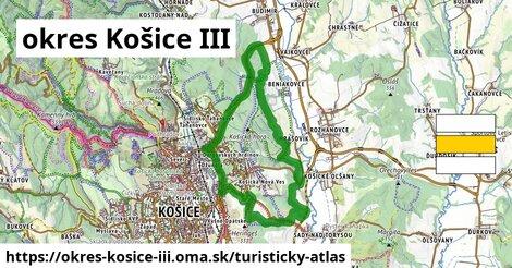ikona Turistická mapa turisticky-atlas  okres-kosice-iii