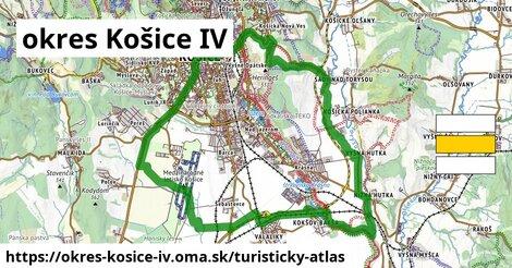 ikona Turistická mapa turisticky-atlas  okres-kosice-iv