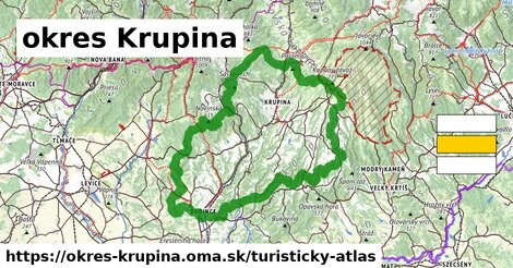 ikona Turistická mapa turisticky-atlas  okres-krupina