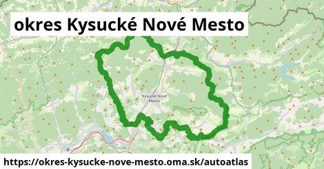 ikona Mapa autoatlas  okres-kysucke-nove-mesto
