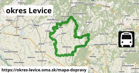 ikona Mapa dopravy mapa-dopravy  okres-levice
