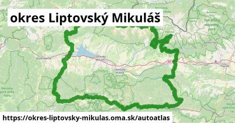 ikona Mapa autoatlas  okres-liptovsky-mikulas