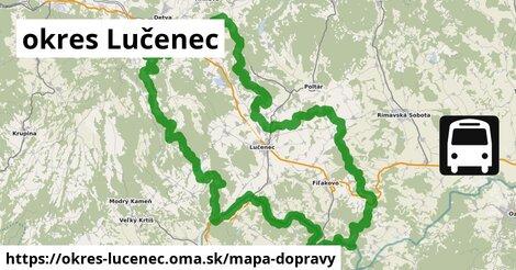 ikona Mapa dopravy mapa-dopravy  okres-lucenec