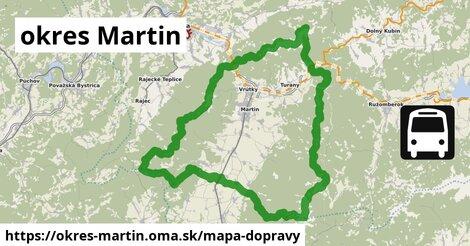 ikona Mapa dopravy mapa-dopravy  okres-martin