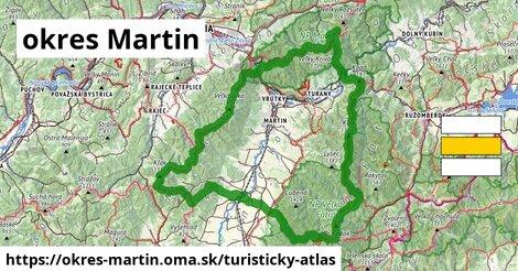 ikona Turistická mapa turisticky-atlas  okres-martin