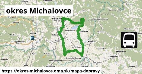 ikona Mapa dopravy mapa-dopravy  okres-michalovce