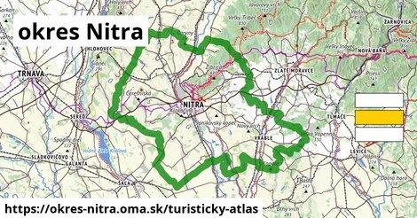 ikona Turistická mapa turisticky-atlas  okres-nitra