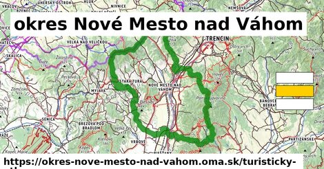ikona okres Nové Mesto nad Váhom: 319km trás turisticky-atlas  okres-nove-mesto-nad-vahom